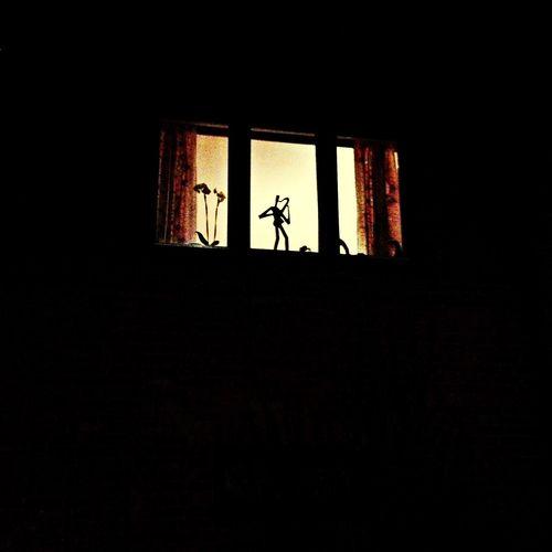 Jazz Saxophone Oslo Window