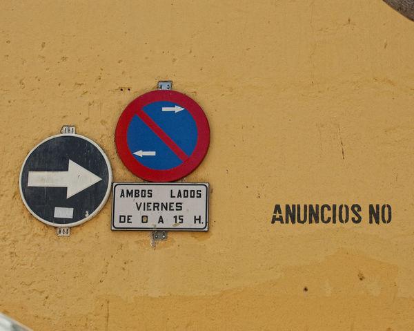 Communication Conceptual Photography  Geometric Shape Information Sign No People Photographer Arturo Macias Road Sign Text