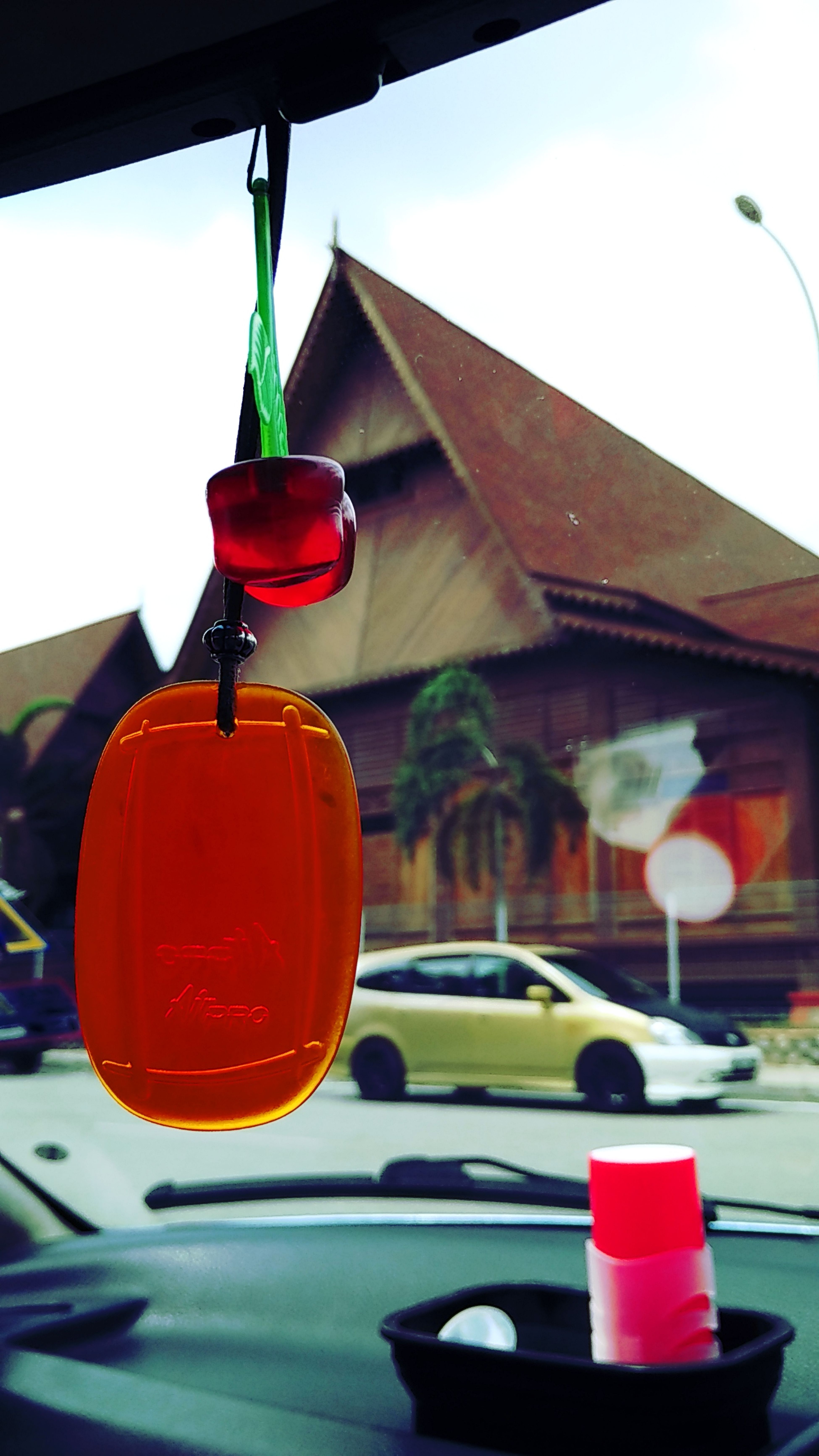 Car Fragrant, Car Close-up Day Transportation Red Outdoors Vehicle Mirror