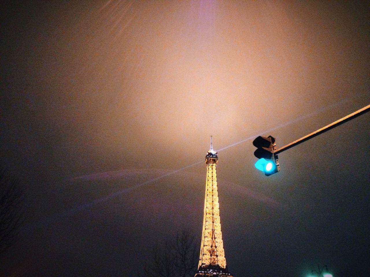 Paris vs Traffic lights Paris Tour Eiffel Street Photography The Architect - 2014 EyeEm Awards The City Light