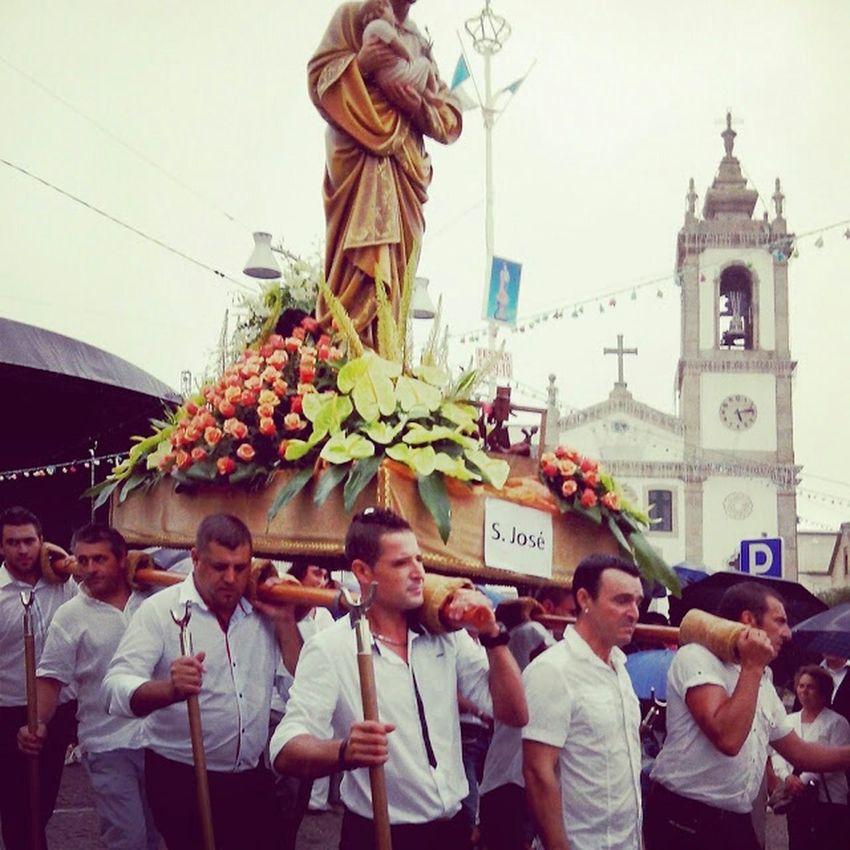 Portugal Procession A Ver O Mar Póvoa De Varzim été2014 Vacances Vacation