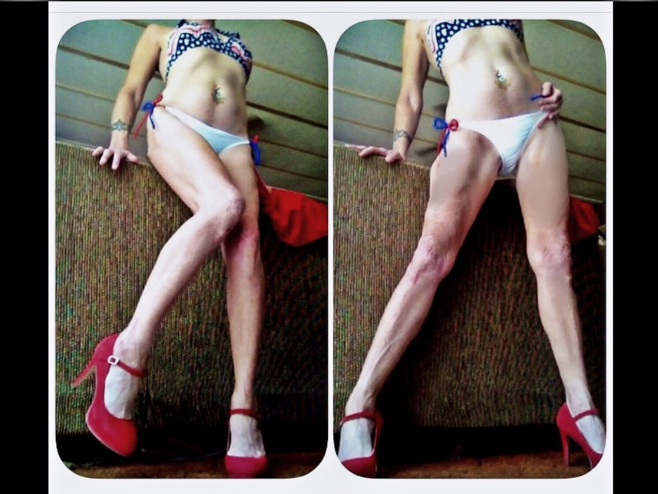 Legsfordays Teamlonglegs Swimsuit Fashion Legs Legs Legs Bikinifitness Swimsuit Model Bikinimodel Legs4days High Heels ❤ Red Hair Redhighheels SexyAsFuck Bikiniporn Bikinibabe Leg Photography Beautiful