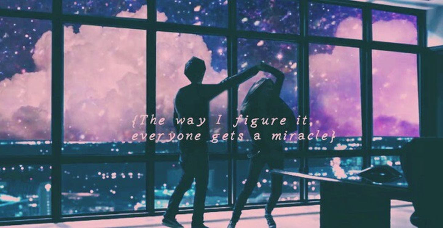 """,,everyone gets a miracle.."""" Papertown Miracle"""