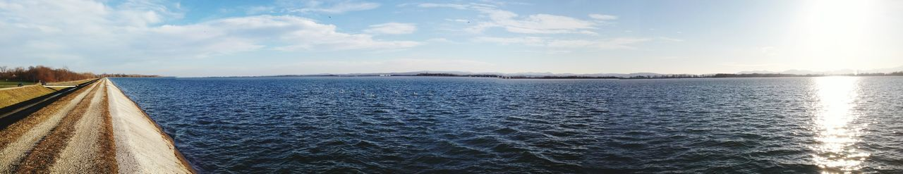 It's a beautiful day! Panoramic View Sunnyday☀️ Lakeshore