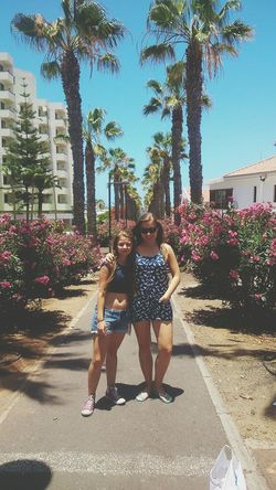 meeee and my sister Relaxing Tenerife Holidays That's Me