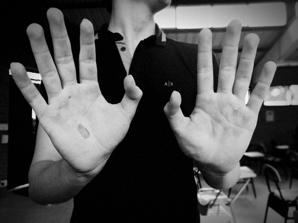 Hands Calisthenics Work No Pain No Gain 🔥💪