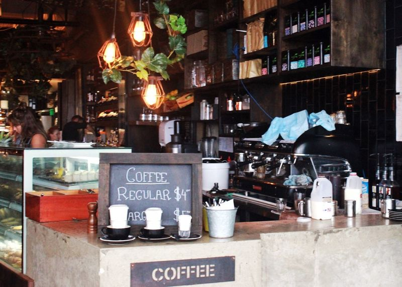 Takeaway coffee counter at a Cafe Takeaway Coffee Takeaway Coffee Counter Cafe Restaurant Coffee Shop Coffee Time Coffee Culture Coffeeshop Cafe Culture Small Business Business Signage Coffeetime Coffee Break Coffeelover Coffee Machine Lights Ambience Surfers Paradise Gold Coast Australia Live Love Shop Interior Views