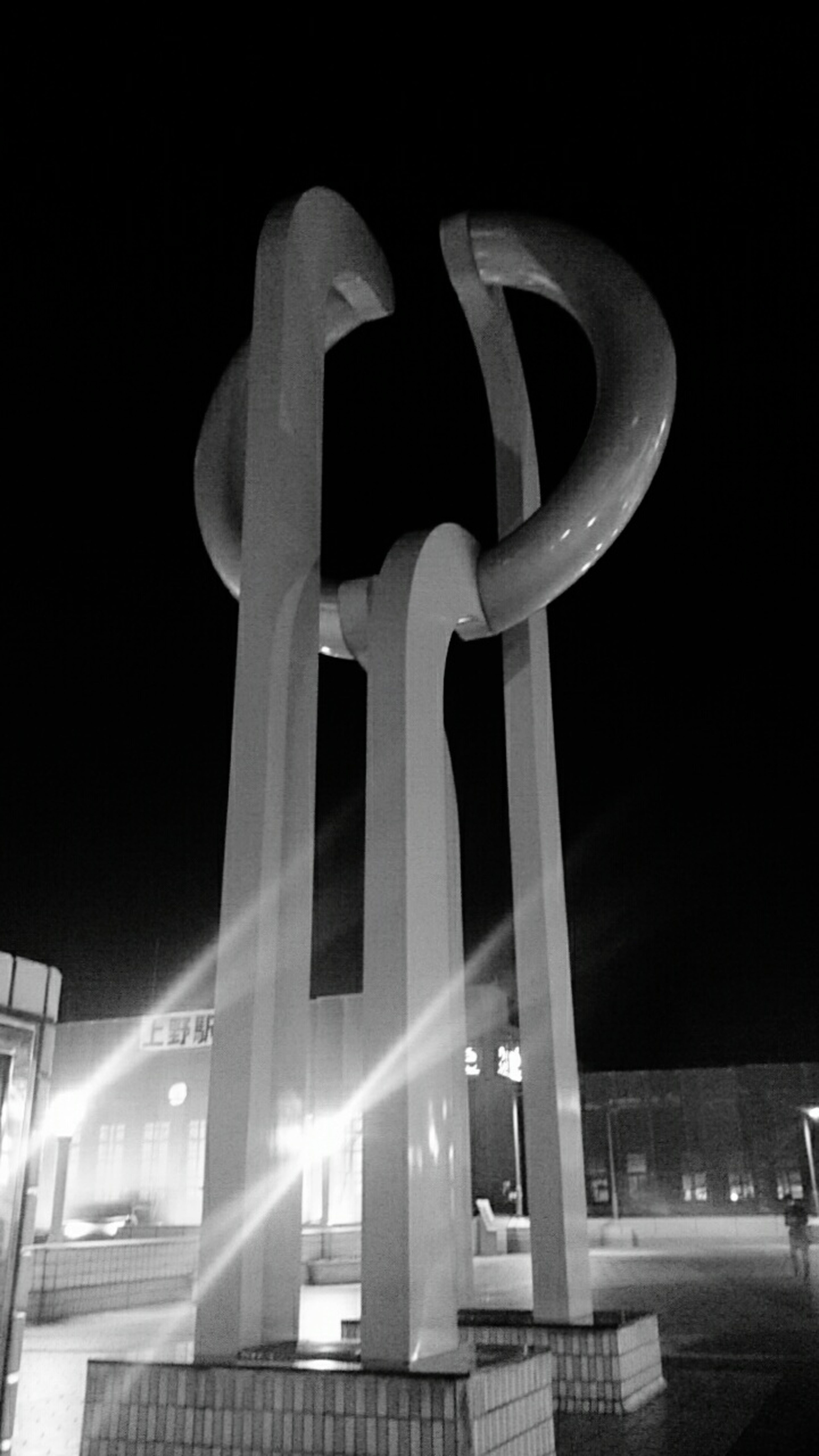 Ueno Station Panda Bridge Monument Nightphotography