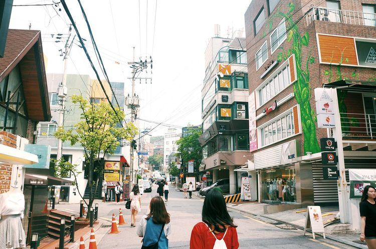 홍대 대한민국 여름휴가 Hongdae Street South Korea🇰🇷