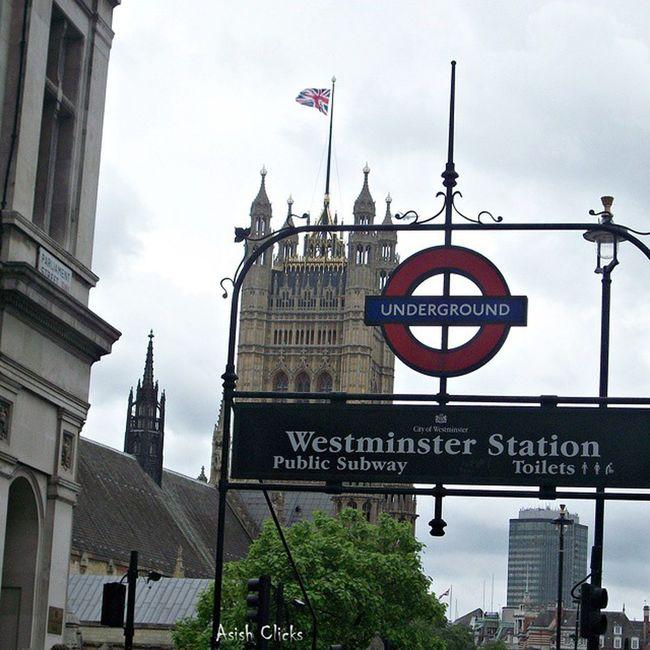 Westminster Station Underground, London Westminster CityOfWestminster London England Uk Unitedkingdom Britain Trip Travel Asishclicks Mobilephotography Random ILoveLondon Londontourism Instapic Instagood Loveithere Godsavethequeen