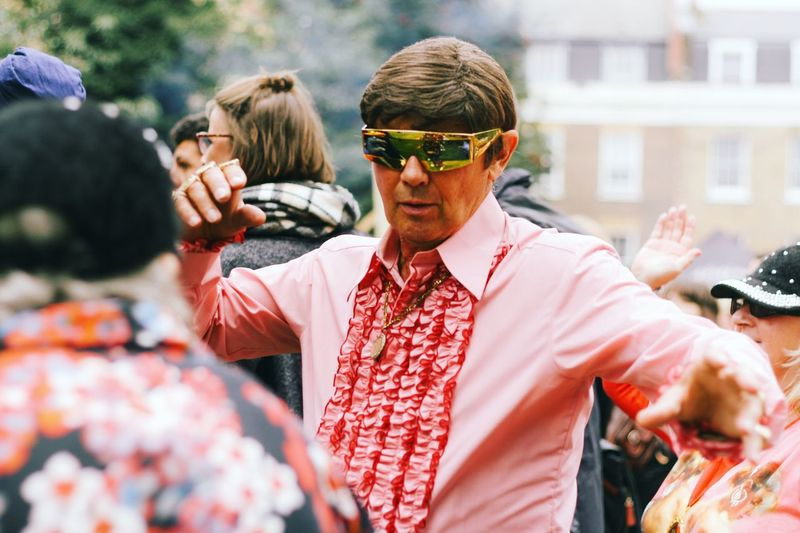 Bermondsey Street Festival 2016 Focus On Foreground Person Bermonsey Festival Frills Sun Party Time Dancing Groovy Enjoying Life Enjoying The Sun Being Free
