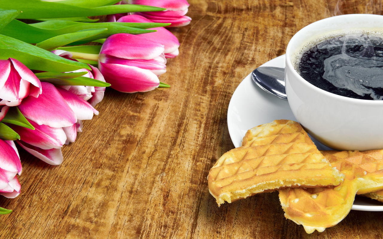 Beautiful stock photos of tulip, Coffee - Drink, Coffee Cup, Day, Drink