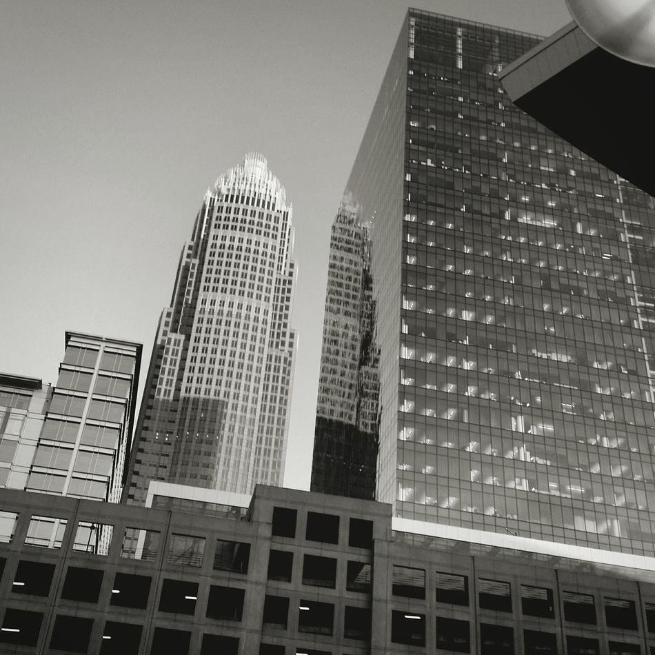 Charlotte, North Carolina best day everNorth Carolina Charrlotte Buildings & Sky Black & White Blackandwhite Black And White Photography City Cityscape Buldings Sky Photography Relaxing Art Beauty View Showcase July Color