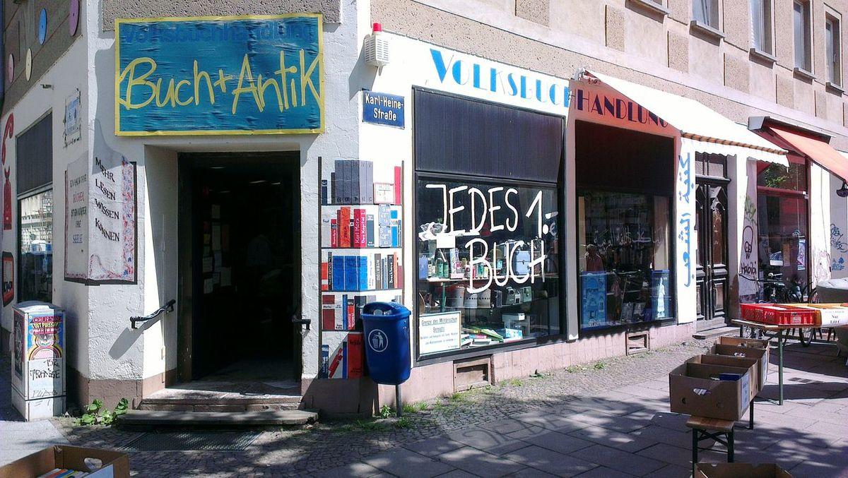 Leipzig Karl-Heine-Straße Buchladen Buchhandlung Bookstore Citylife Lifestyle Alternative Lifestyle