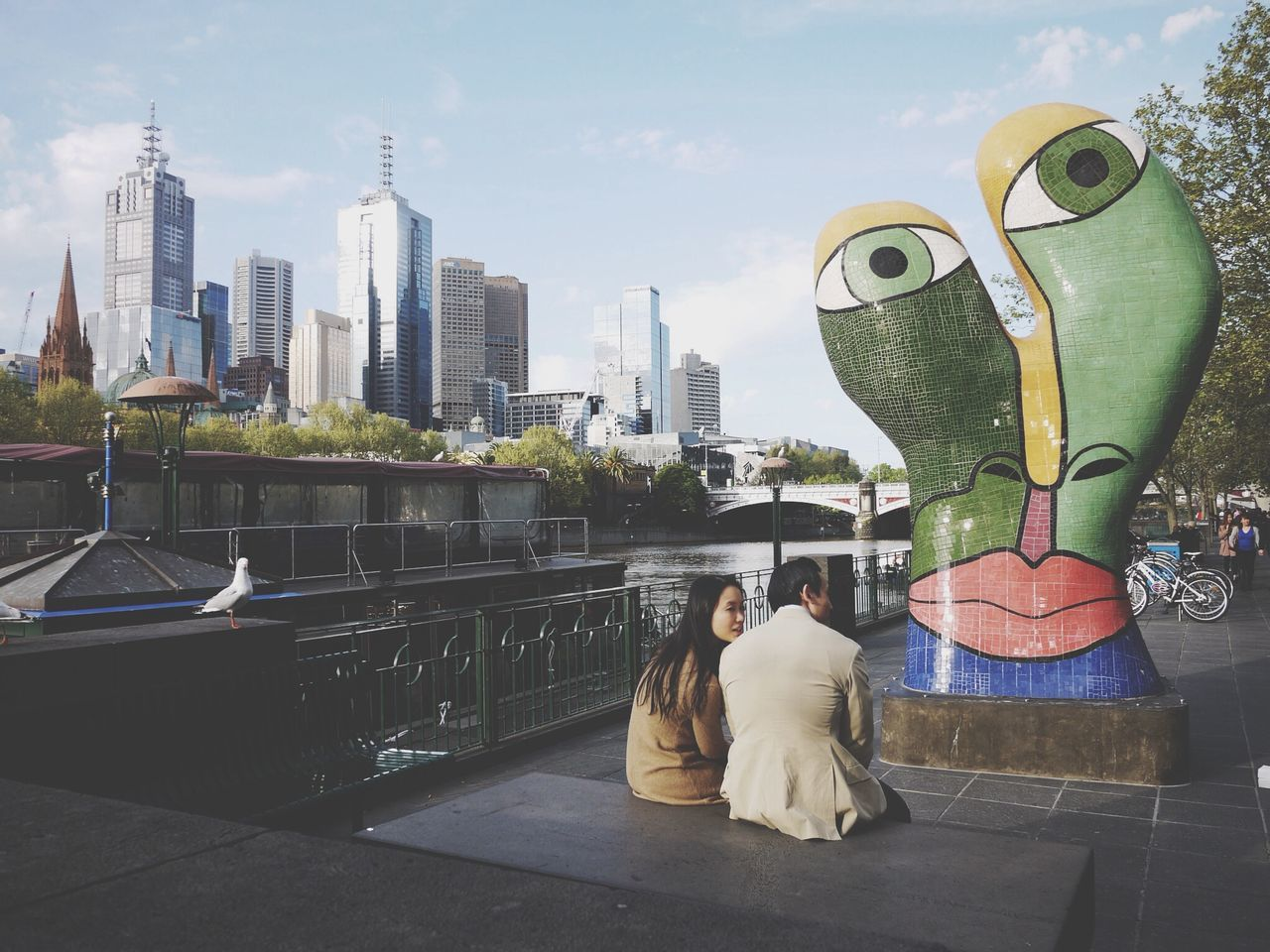 Yara River Eyes Flinders St #Melbourne Australia