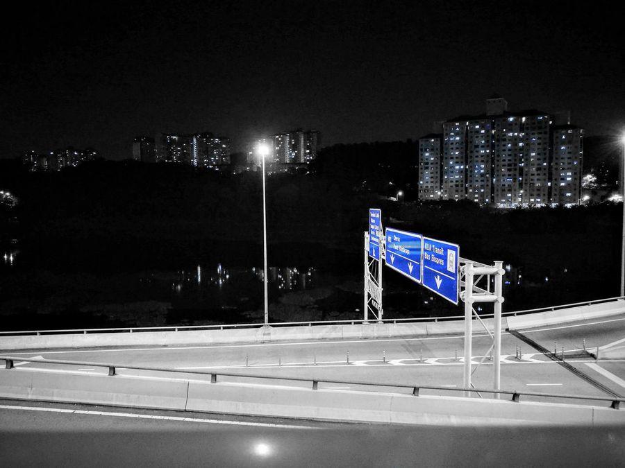 Emptyroad Night Nightphotography The Week On EyeEm