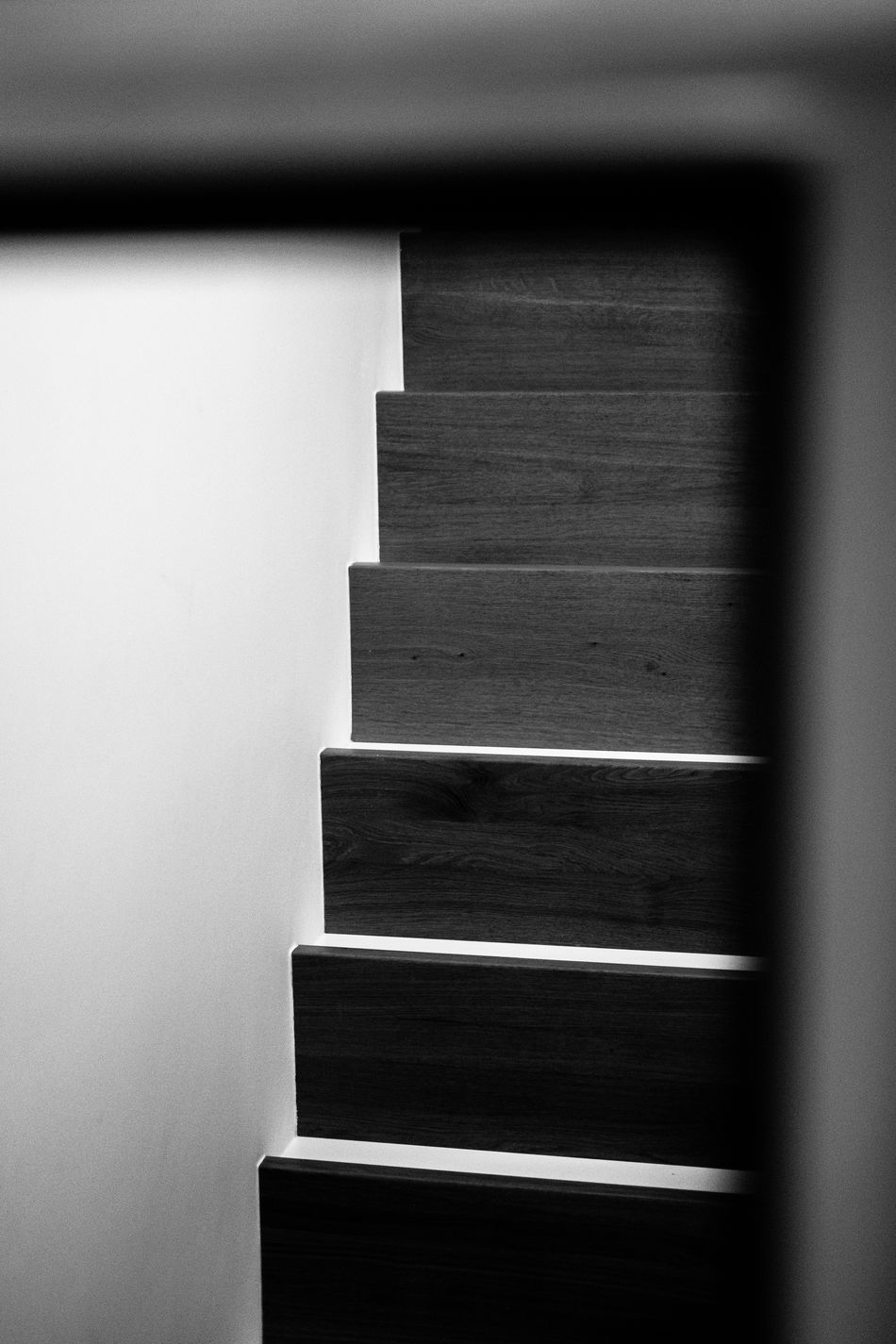 Architecture Backgrounds Black And White Blackandwhite Photography Close-up Day Hallway Indoors  Indoors  No People Staircase Stairs