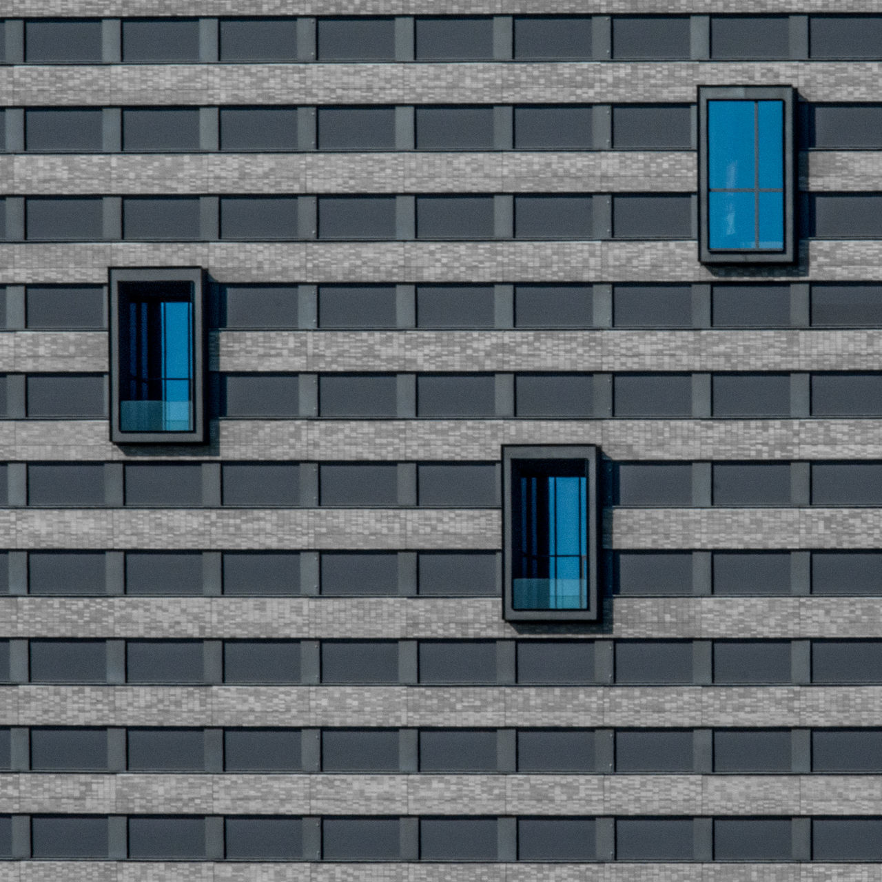 Square 007 Architectural Detail Architecture Architecture_collection Blue Building Exterior Built Structure City Close-up Composition Day Modern No People Outdoors Skyscraper Urban Geometry Window Art Is Everywhere The Architect - 2017 EyeEm Awards BYOPaper! Premium Collection