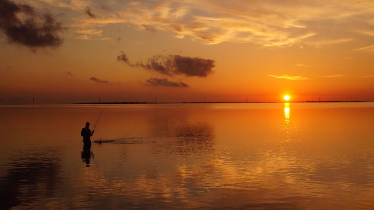 Fishermen Catch Of The Day Catch The Moment Fish Sunrise Sunrise Silhouette Sun Reflection Nature Nature Photography Market Bestsellers April 2016 People Of The Oceans The Great Outdoors - 2016 EyeEm Awards The Essence Of Summer