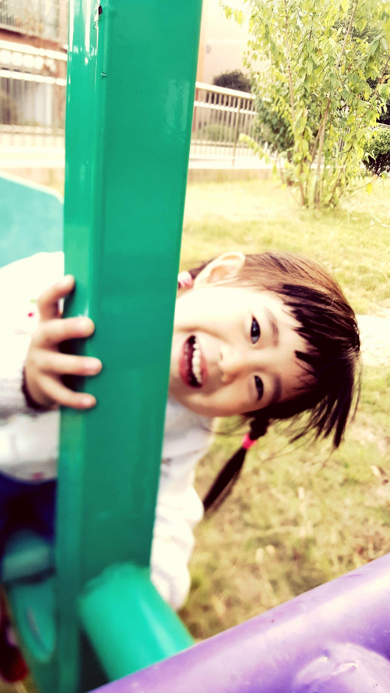 我的女神 One Person Smiling Child Happiness One Person Smiling Holding Portrait Child Looking At Camera People Front View Happiness Leisure Activity Children Only Day Outdoors One Girl Only Childhood Refreshment Adult First Eyeem Photo