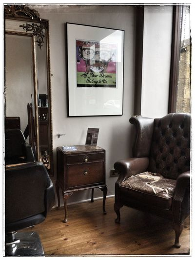 One Of My Photographs Hanging In A Hair Salon New York Grafitti