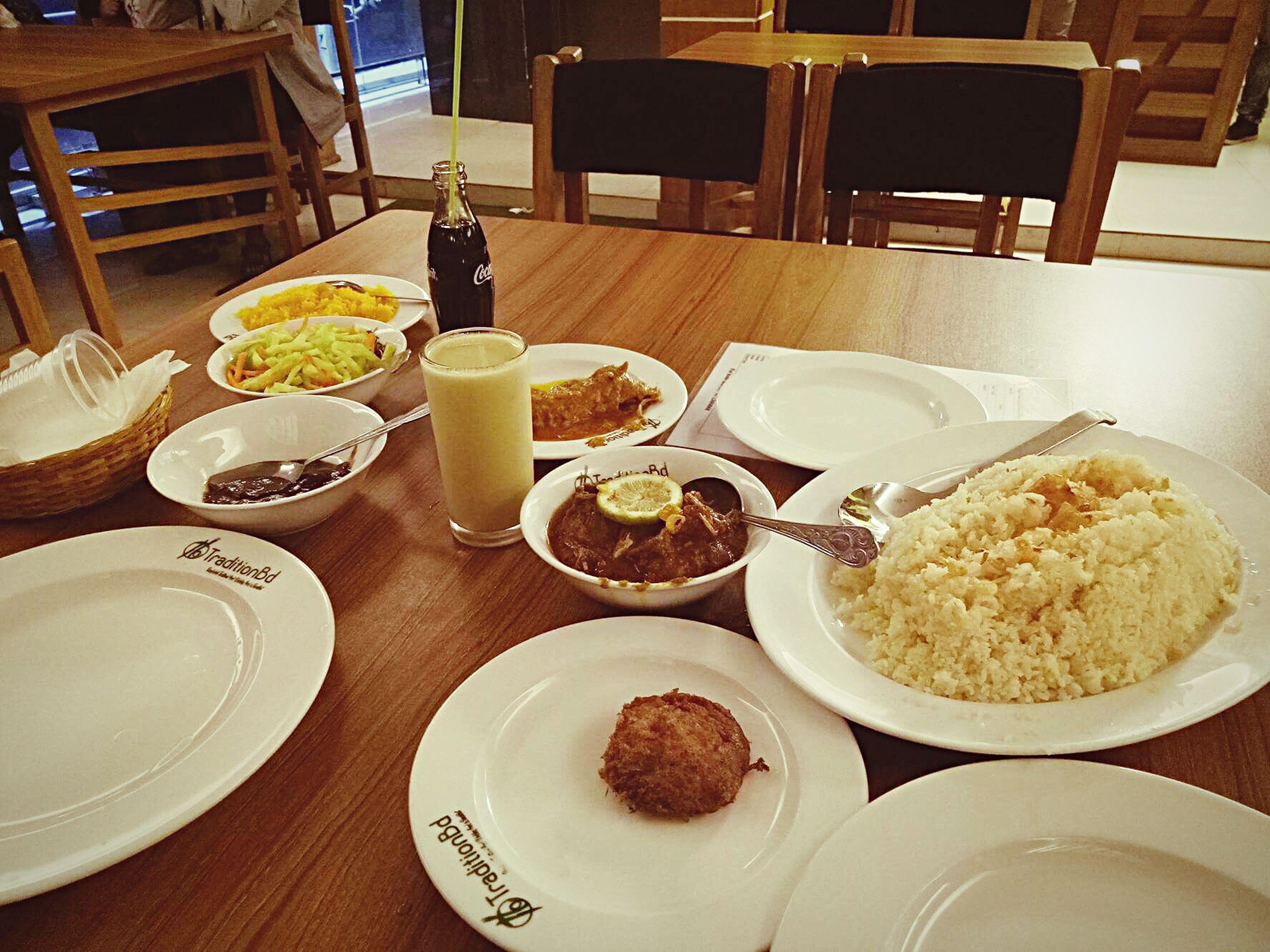 Delicious Bengali Food Polau Chicken Roast Beef Rezala Tikka  Borhani Jordavaat Coke