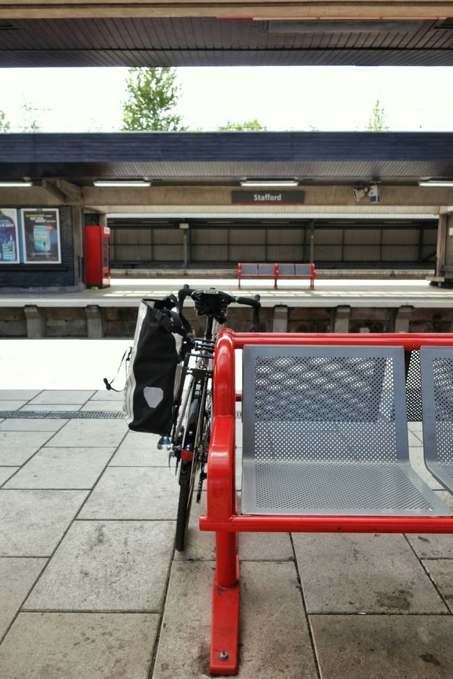 Stafford Bicycle Train Station Platform My Bicycle Benches_Of_The_World_Unite