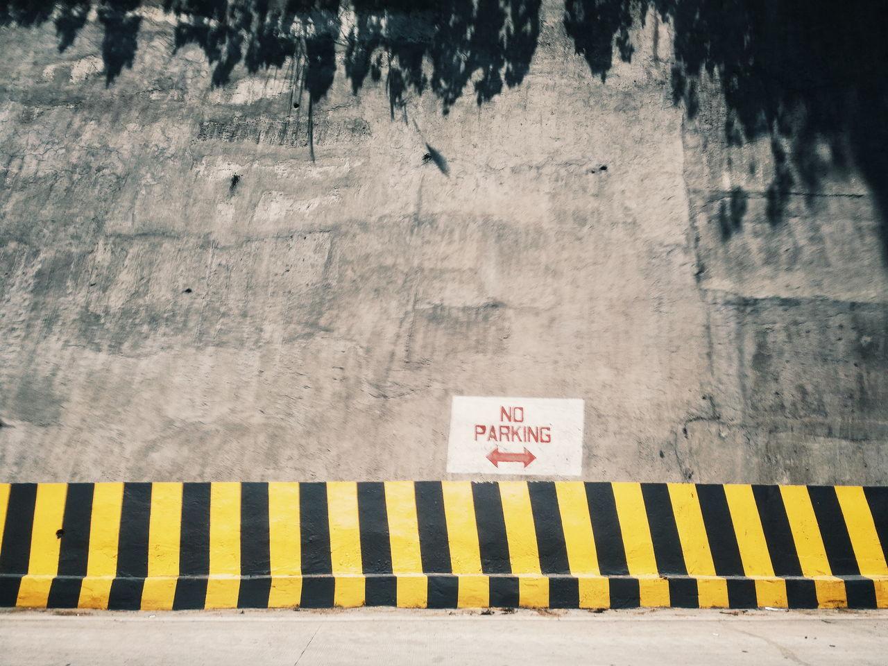 No parking Outdoors Text No Parking Street Sign