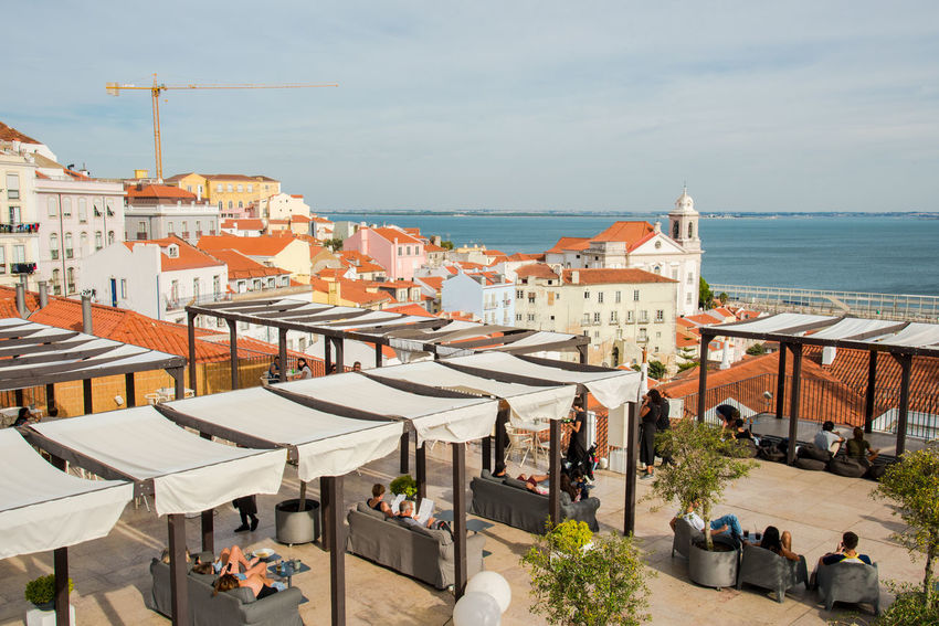 Afternoon City Cityscape Colourful Exploring Light Portugal Relaxing Terrace Tranquility Travel Travel Photography Trip View Day Hotel Lisboa Lisbon Lounge Restaurant River Travel Destinations View From Above Viewpoint Water