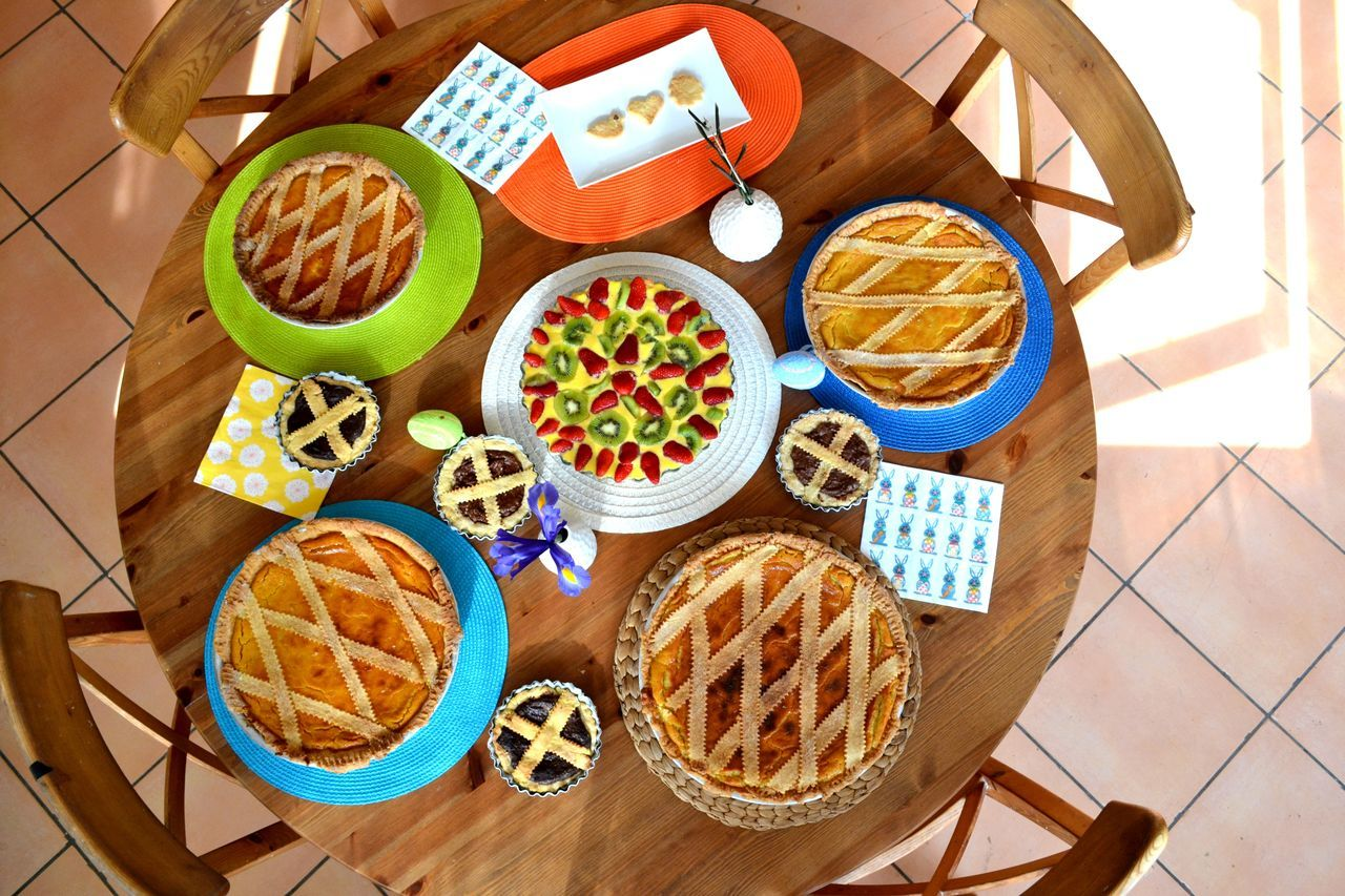 Bowl Breakfast Crostata Fatta In Casa Crostatadifrutta Cucinare Day Directly Above Easter Fattoincasa Food Food And Drink Freshness Fruit Healthy Eating High Angle View Indoors  No People Pastiera Napoletana Plate Ready-to-eat Sweet Food Sweet Moments Sweetfood Table