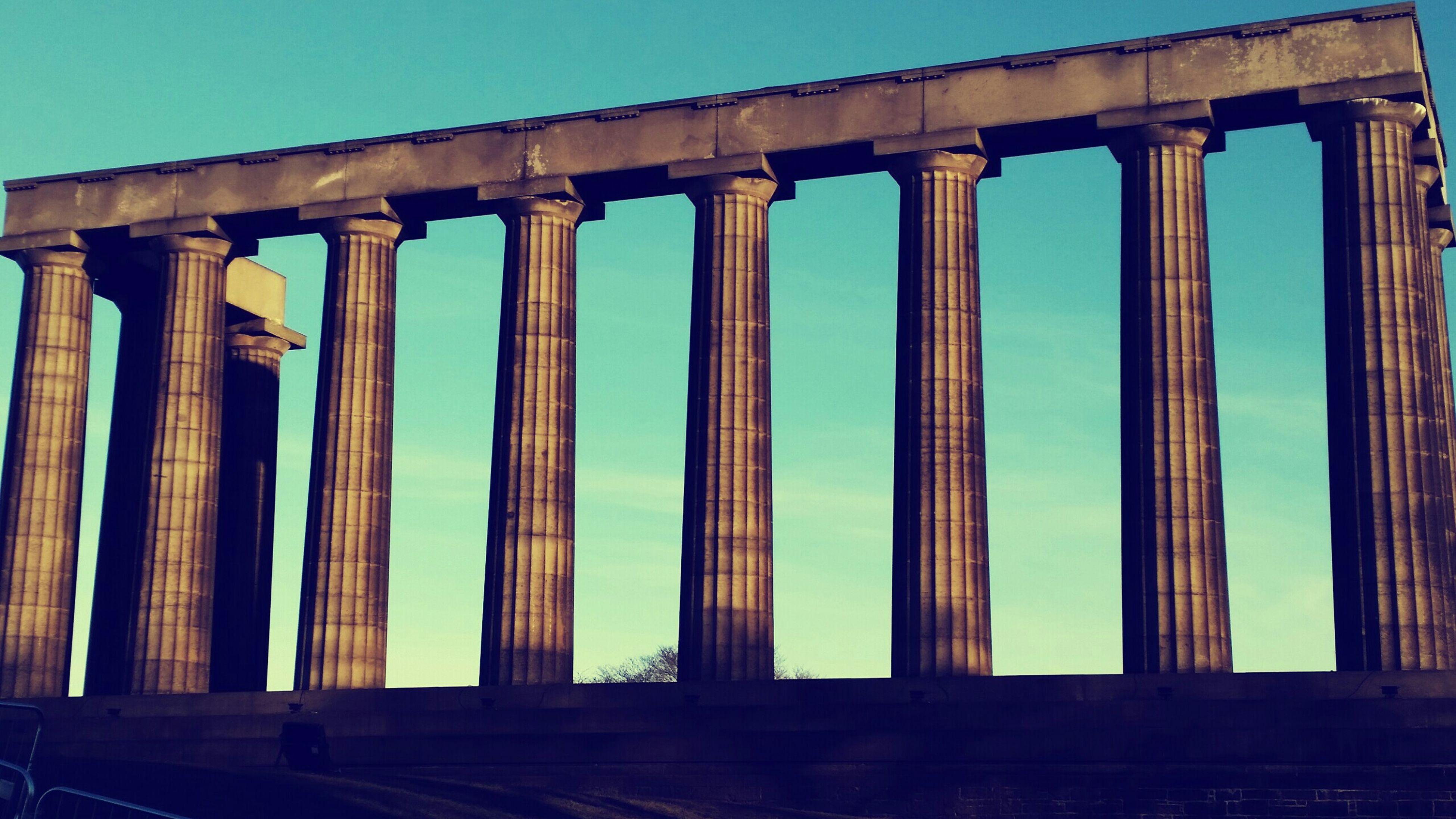 Lovely Walk Exploring Edinburgh Blue Sky Beautiful Fun In The Sun Places I've Been