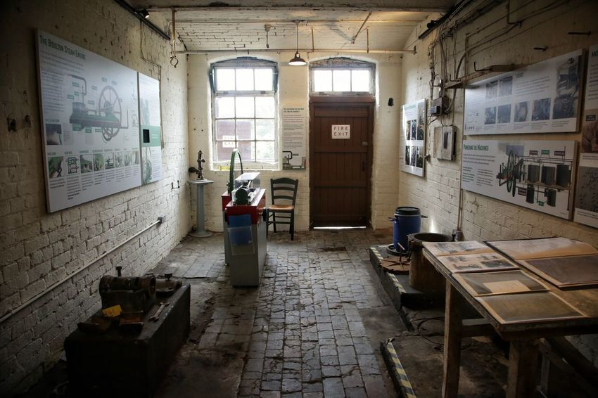 Middleport Pottery Abandoned Architecture Built Structure Chair Day Indoors  Middleport Pottery No People Window