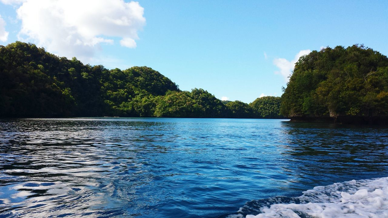 Rock Island Pacific Ocean Micronesia Palau Boat Trip EyeEm Traveling Blue Wave The Great Outdoors With Adobe The Great Outdoors - 2016 EyeEm Awards Miles Away