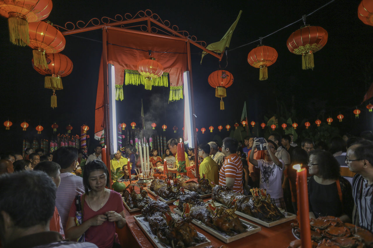 Chap Goh Mei 15 Nights Of Chinese New Year Chap Goh Meh Chinese Culture Chinese Valentine's Day Food Offerings To The Gods Red Lanterns Ritual
