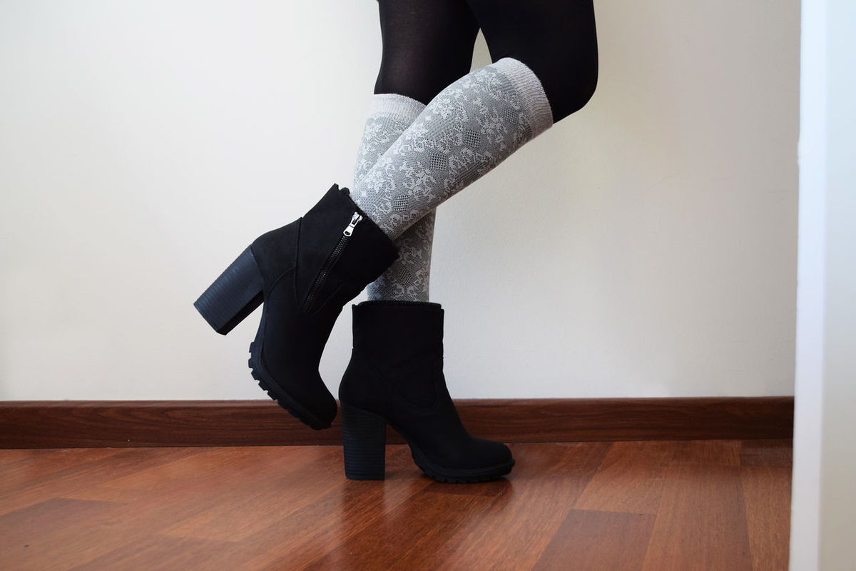 Black Black Color Boot Boots Clothing Fashion Fashion Photography Feet Floor Footwear Human Body Part Indoors  Legs Low Section One Person ShoePorn Shoes Shoes ♥ Socks Traveling Home For The Holidays Woman Women Young Young Women