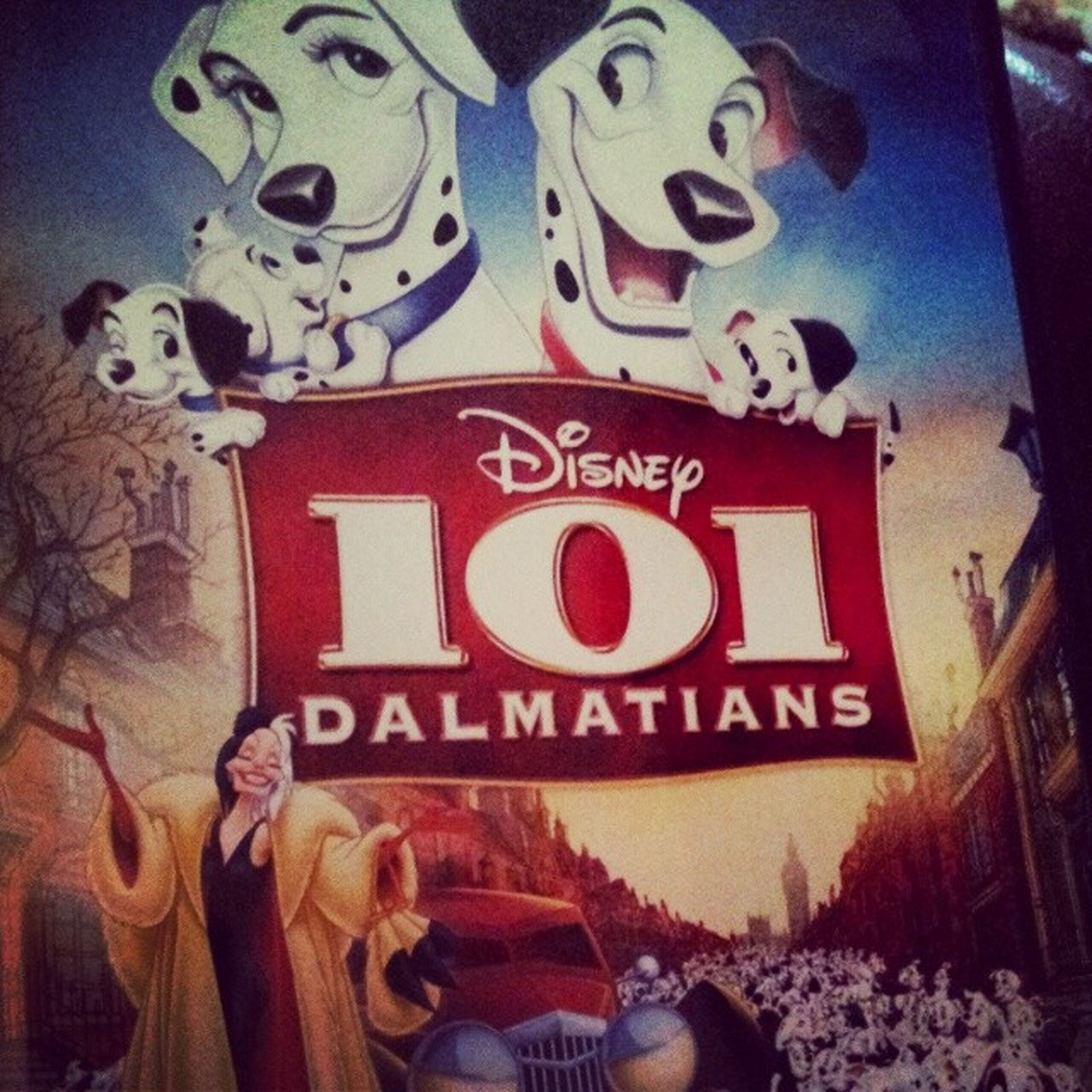 Seeing as apparently i dont own beauty and the beast.. 101 dolmatians will have to do! Disney MOVIE 101dolmatians