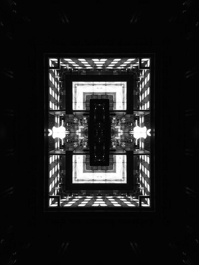Apple box Double Exposure Doubleexposure Symmetryporn Symmetrical Symmetry Abstract Artistic Art Abstractart Abstract Art Black & White Black And White EyeEm Best Shots - Black + White Blackandwhite Photography Blackandwhite Monochromatic Monochrome Rearchitseries Abstractarchitecture