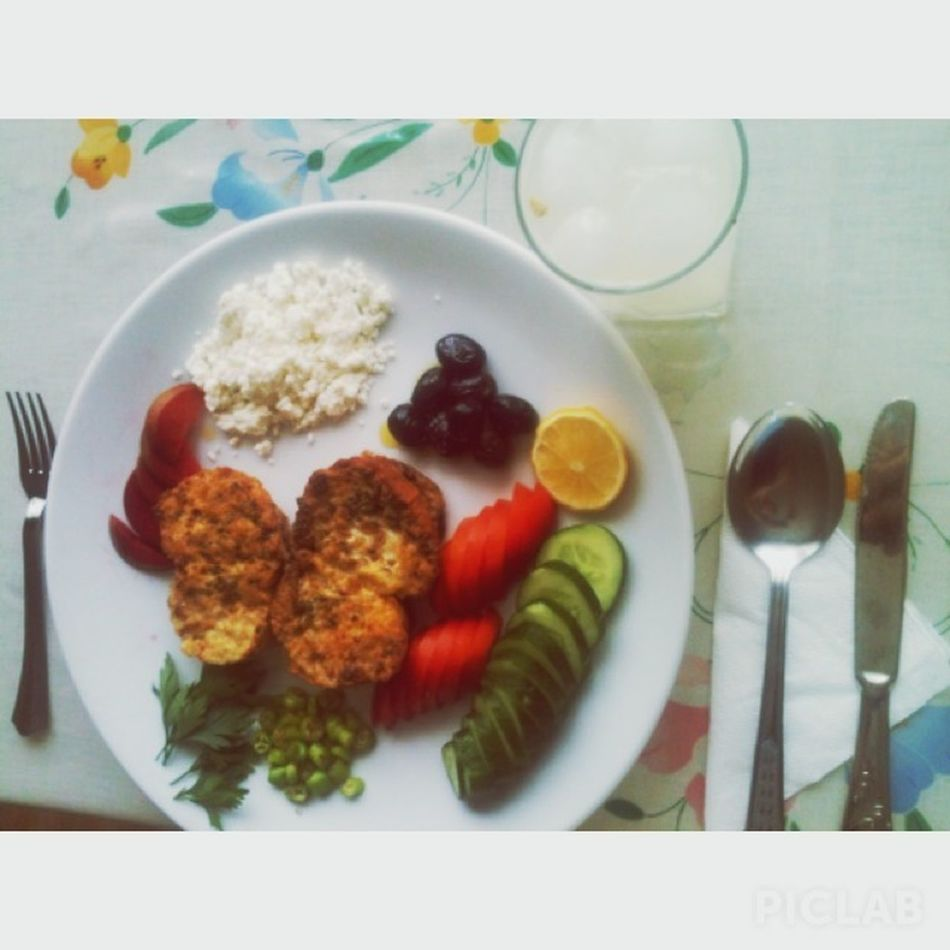 kahvalti isi benden sorulur arkadaşlar ? Breakfast Homemade Myself Yummy