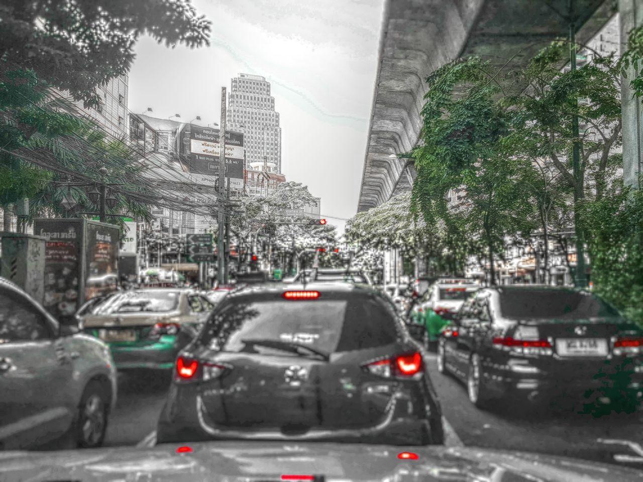 City of traffic... Bangkok City Street Traffic Jam City Taking Photo Just Doing My Thing
