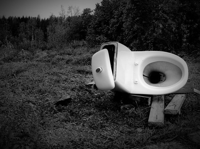 Life Is A Journey Mind  Toilet Blackandwhite Lonely Objects TakeoverContrast Monochrome Photography