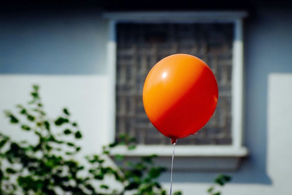 Beautiful stock photos of orange, Balloon, Day, Focus On Foreground, No People
