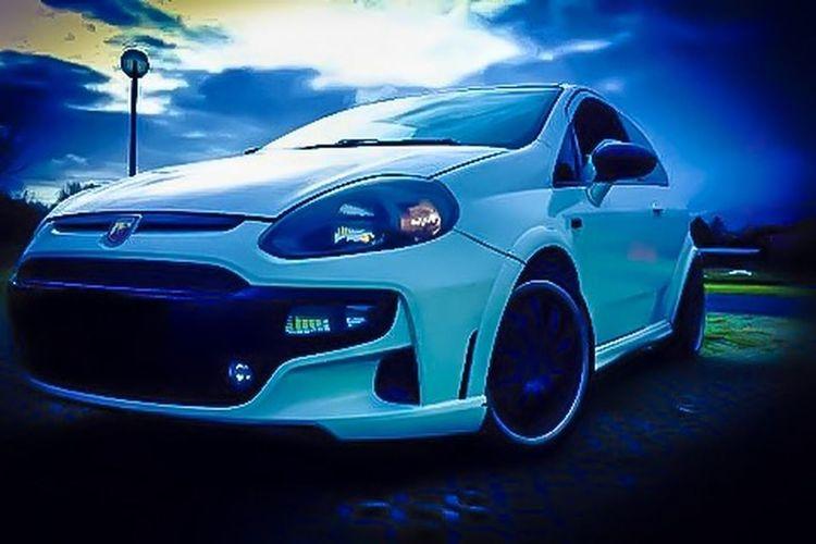 AbarthOnly Evoabarth Fiatpuntoevo Tuning Car Auto Sportcar Abarth First Eyeem Photo