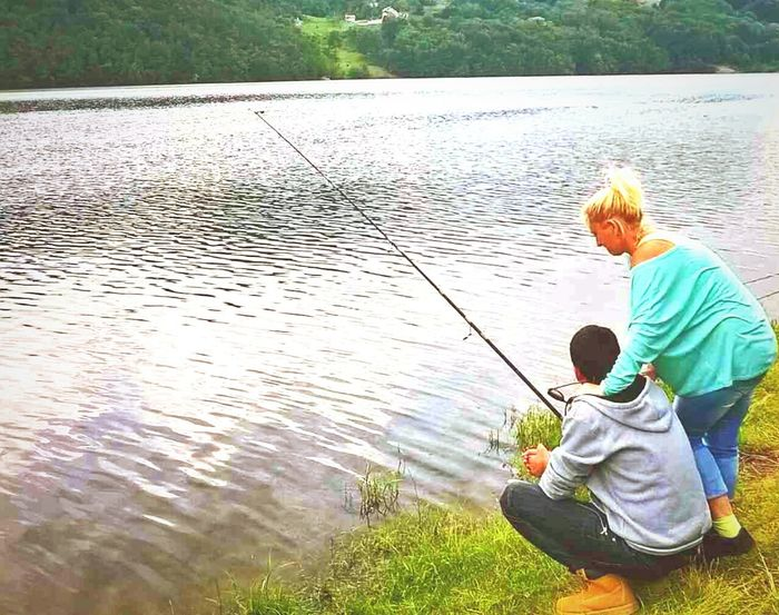 Water Fishing River One Man Only Childhood Outdoors One Person Day Senior Adult Fishing Pole Nature People Only Men Adults Only Adult