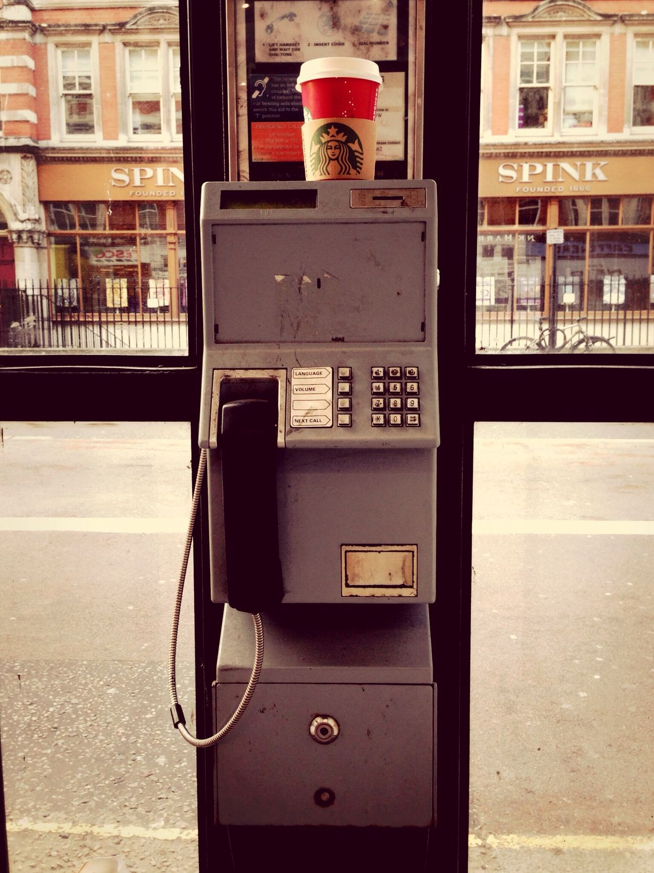 Coffee Break London EyeEm Meetup Telephone Box IPhone Photography