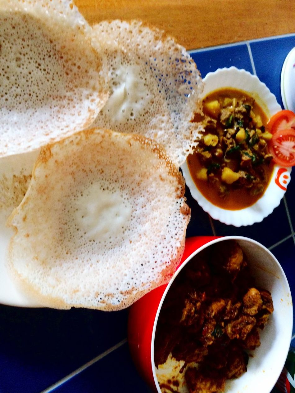 Wanna have some breakfast with me ? 😄 Appam Food Breakfast Breakfast ♥ Breakfast Time Chicken Curry Curry Beef Stew Beef Garnish Beautiful Tasty Yummy Yum Yummy♡ Sauce Colours Colourful Jeemals Eat Ready-to-eat Foodphotography
