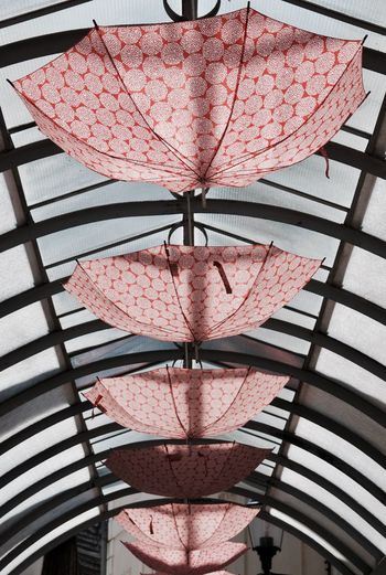 Art is everywhere Art Is Everywhere Close-up Day Decoration Gallery Indoors  Installation No People Red Red Color Ubrella