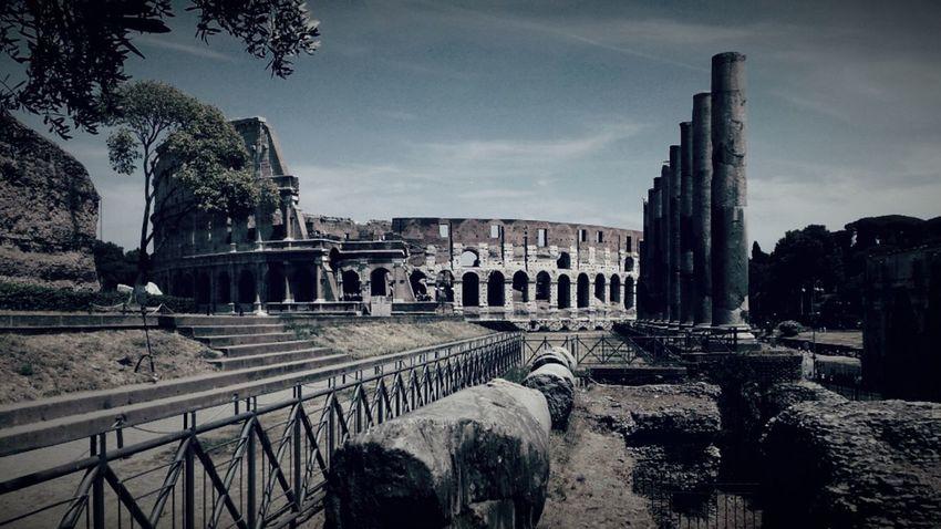 Rome col Coluseum