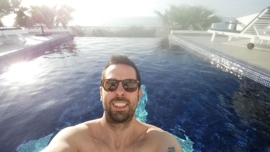Adults Only Portrait Only Men Looking At Camera One Person Water Swimming Pool MoroccoTrip Relaxing Smile ✌ Sea View Mid Adult One Man Only Beard Fun People Adult Leisure Activity Sunglasses Headshot Happiness Outdoors Cheerful Vacations It's Me! Done That. Been There. Lost In The Landscape