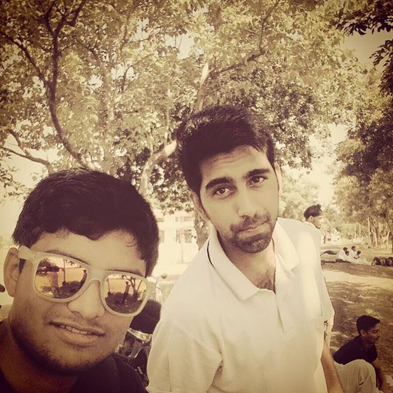 With_Preethvi_bhai Seniors Intercollege_cricket_tournament Play_hard_play_fair Insta_Shades