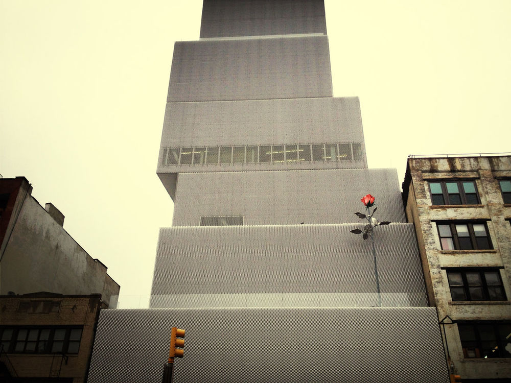 Architecture at New Museum by Flo Meissner